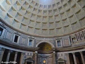 Pantheon intérieur dome Rome
