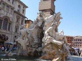 Piazza Navona Rome fontaine