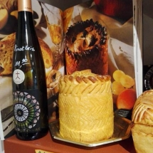 Foie gras en croûte Strasbourg