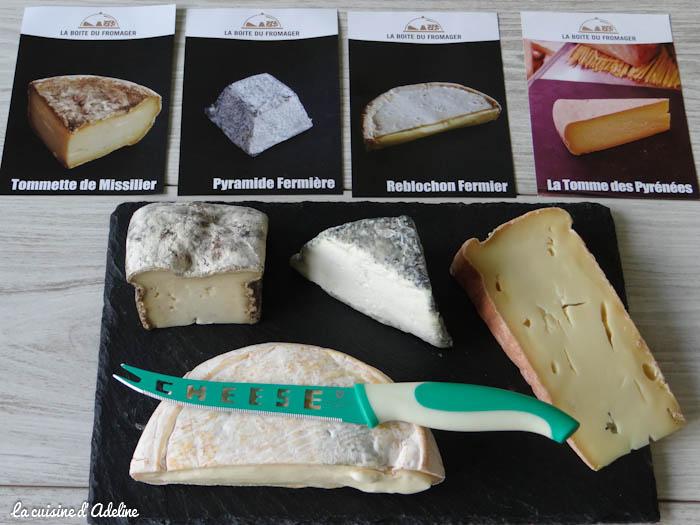 La boite du fromager : box fromages à domicile