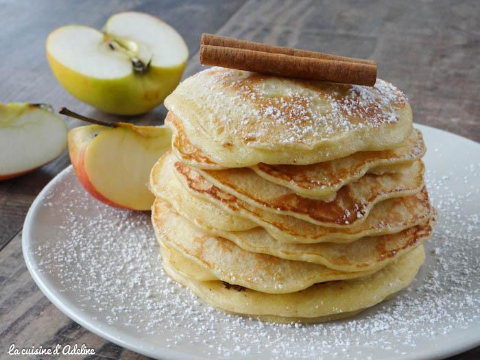 Pancakes Aux Pommes Facile Et Rapide La Cuisine Dadeline