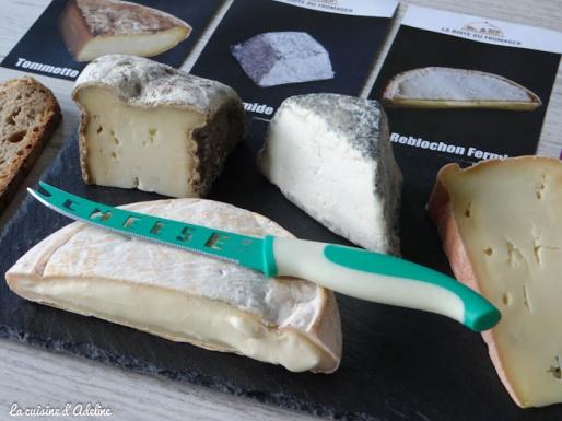 Plateau de fromages - La Boite du Fromager