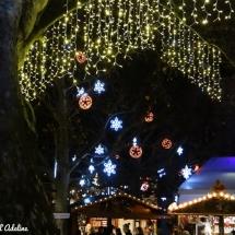 Décorations de Noël à Strasbourg marché de Noël