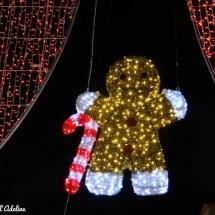 Marché de Noël décoration petit biscuit