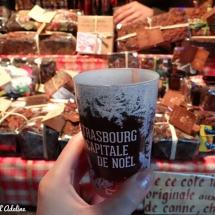 Vin chaud marché de Noël Strasbourg