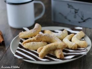 Vanille Kipferl - Croissants de lune aux amandes
