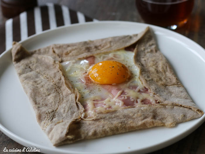 Galette complète Bretonne - Jambon oeuf fromage
