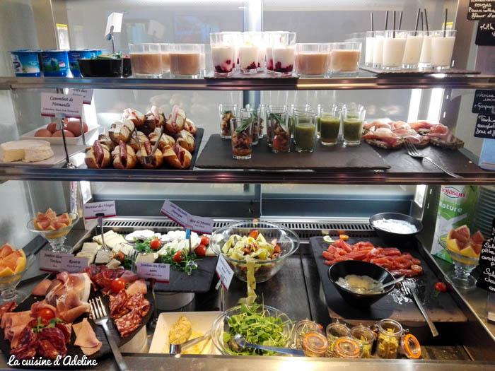 Hôtel Athena Strasbourg brunch - Buffet froid