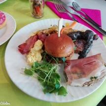 Hôtel Athena Strasbourg brunch - Burger