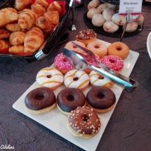Hôtel Athena Strasbourg brunch - Donuts