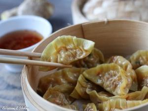 Jiaozi crevettes chorizo
