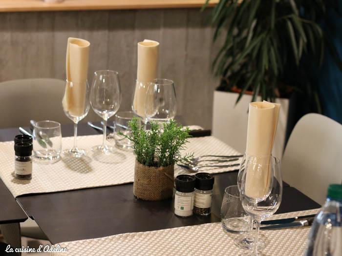 Salade gourmande restaurant l'Oset tennis club à Obernai