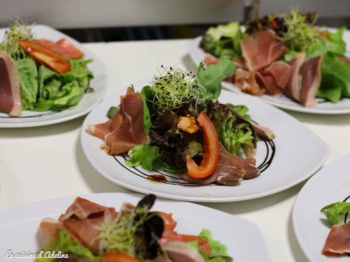 Salade gourmande restaurant l'Oset à Obernai
