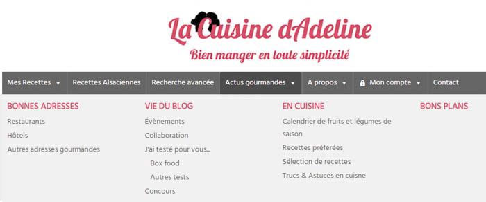 Bonnes adresses - La Cuisine d'Adeline - Nouveautés 2017