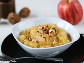 Compote de pommes à la vanille