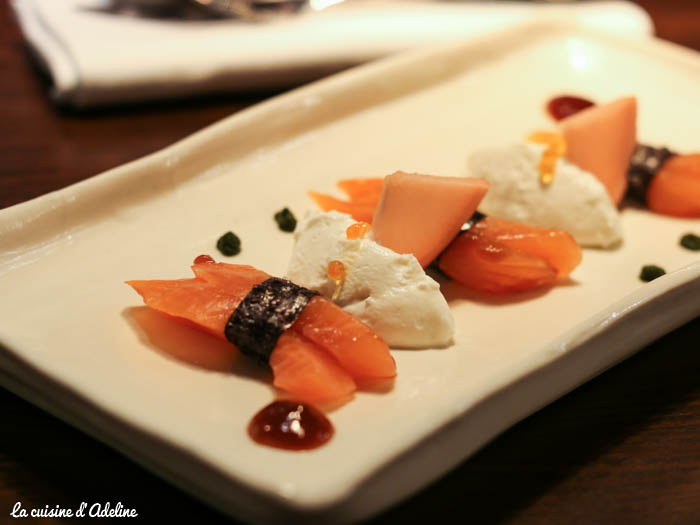 Terroir & Co Strasbourg - Sashimi de truite saumonnée