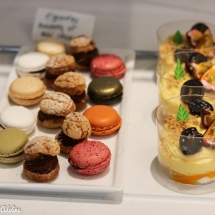 Buffet de pâtisseries - Brunch du Sofitel Grand Ile Strasbourg
