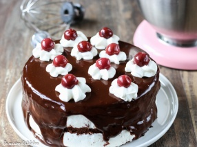 Gâteau Forêt Noire (Schwarzwald)