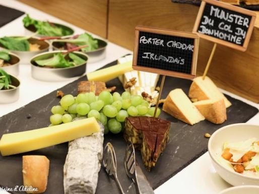 Buffet de fromages - Brunch St Patrick Hilton Strasbourg