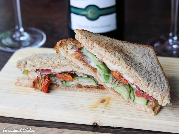 Club sandwich mousse de canard - Matt'ou Strasbourg