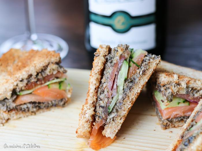 Club sandwich saumon fumé - Matt'ou Strasbourg