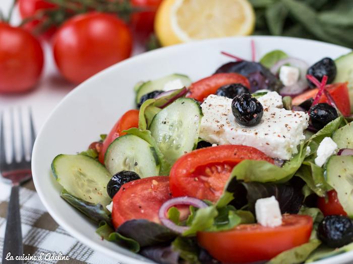 Salade Grecque recette estivale