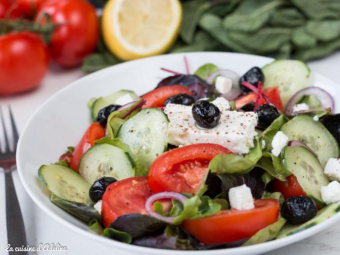 Salade Grecque recette facile et légère