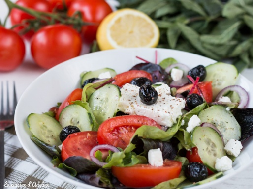 Salade Grecque recette facile et rapide