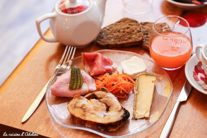 Assiette froide brunch le mandala Strasboug