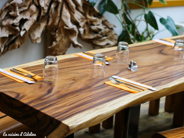 Salle de restaurant le Mandala Strasboug