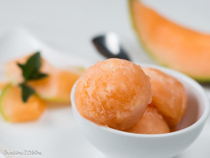 Sorbet melon maison recette