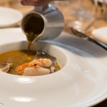 Bouillabaisse safranée - Restaurant la pente douce Toulouse