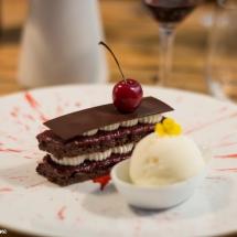 Forêt Noire et glace maison - Restaurant la pente douce Toulouse