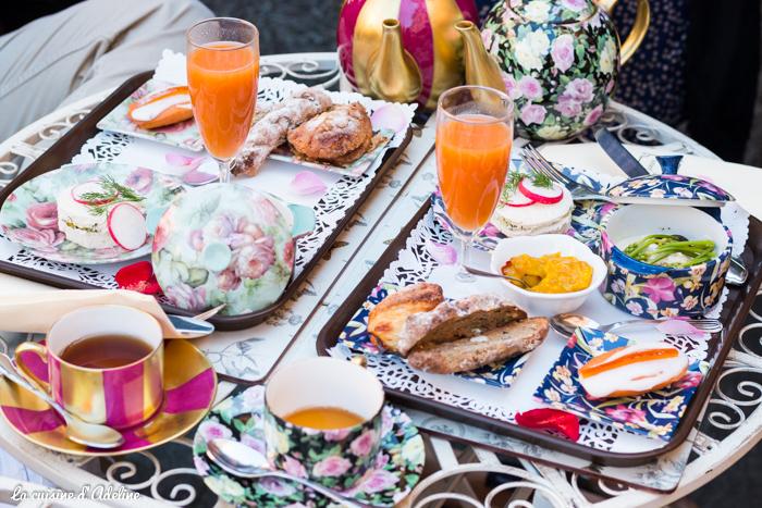 Au fond du jardin Strasbourg petit dejeuner enchantés