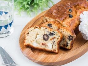 Cake salé aux olives recette facile et rapide