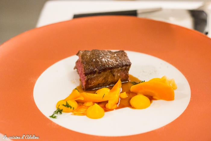 Filet de bœuf Angus menu découverte - La Casserole restaurant Strasbourg