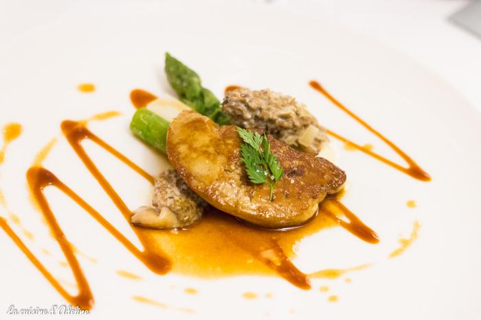 Foie gras menu découverte - La Casserole restaurant Strasbourg