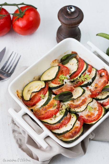 Gratin de légumes recette