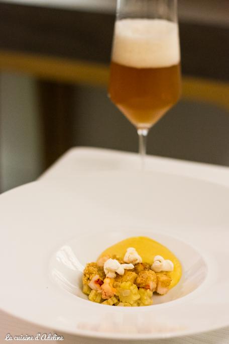 Homard bleu menu découverte - La Casserole restaurant Strasbourg