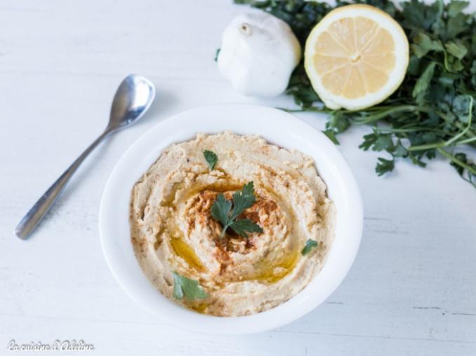 Houmous recette libanaise facile et rapide