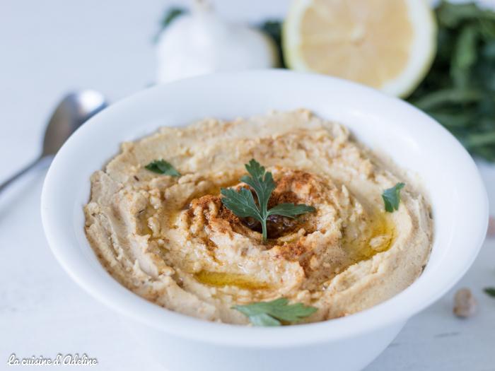 Houmous recette libanaise traditionnelle