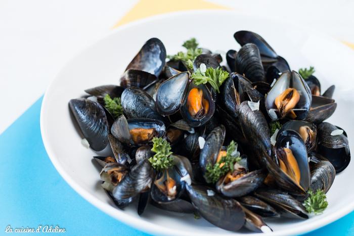 Moules marinières recette facile