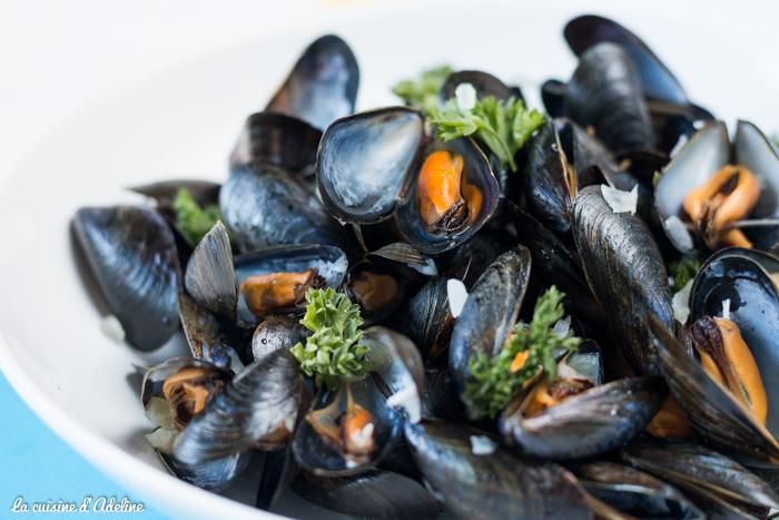 Moules marinières recette traditionnelle