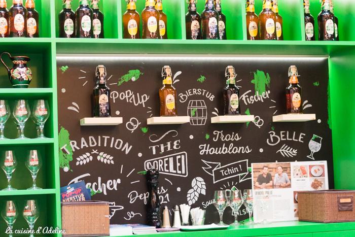 Pop Up Bierstub Fischer bières