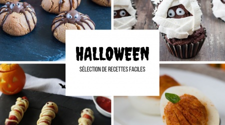 Sélection de recettes Halloween