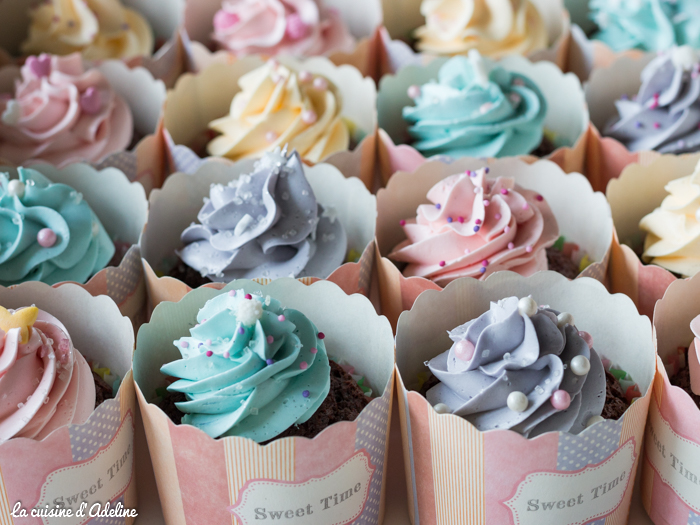 Cupcakes girly princesses Disney recette