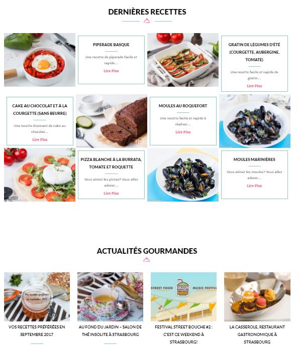 Dernières recettes - La cuisine d'Adeline
