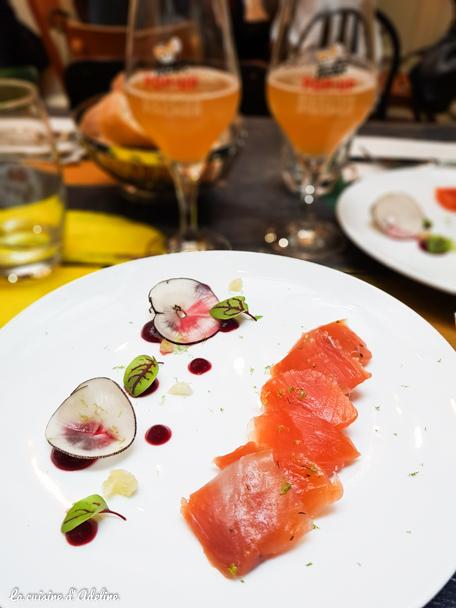 Truite saumonée - Pop Up Bierstub Fischer