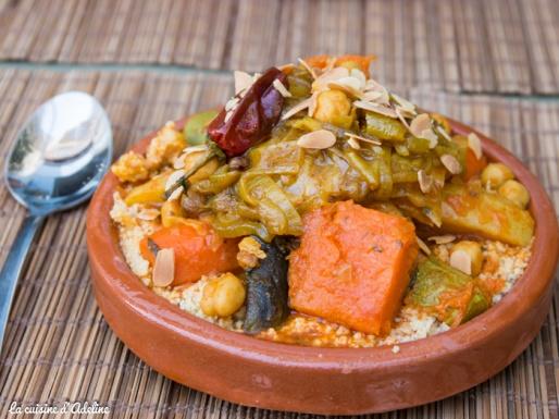 Couscous marocain à Casablanca