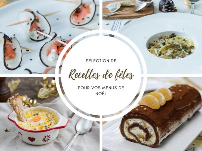 Sélection de recettes de Noël idées recettes faciles